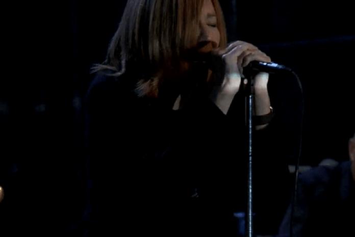 Portishead perform on Fallon