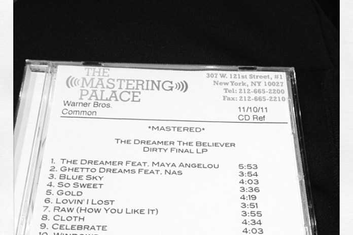 Common - The Dreamer, The Believer (Tracklist)