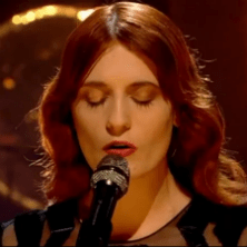 Florence + the Machine performs on Jools Holland