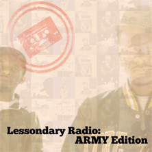 Tanya Morgan - Lessondary Radio: Army Edition
