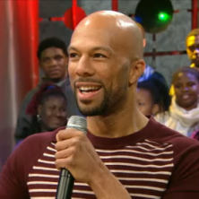 """Common & Maya Angelou clear the air over """"The Believer"""" on BET's 106 & Park"""