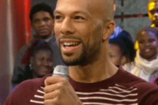 "Common & Maya Angelou clear the air over ""The Believer"" on BET's 106 & Park"
