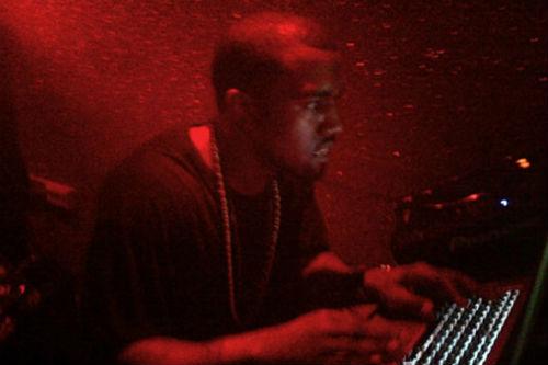 Kanye West's DJ debut in London