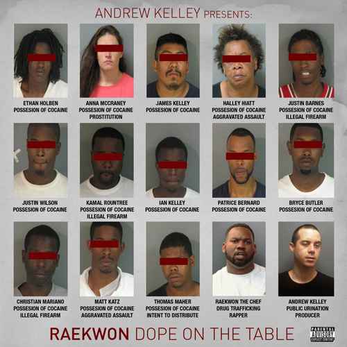 Andrew Kelley Presents: Raekwon – Dope On The Table EP