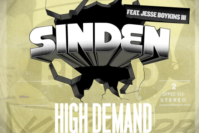 Sinden featuring Jesse Boykins III - High Demand (Brenmar Remix)