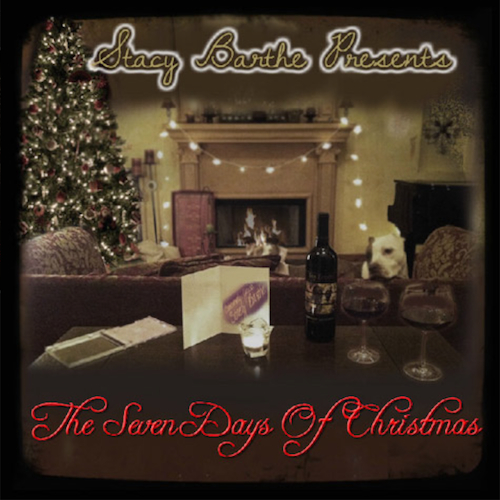 Stacy Barthe featuring John Legend - Baby, It's Cold Outside