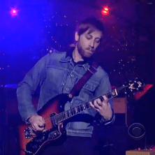 The Black Keys - Gold on the Ceiling (Live on Letterman)