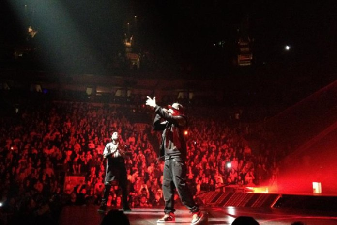 VOYR presents: Kanye West & Jay-Z Backstage at Watch the Throne Tour (Episode 2)