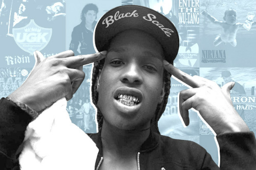 A$AP Rocky names his 25 favorite albums
