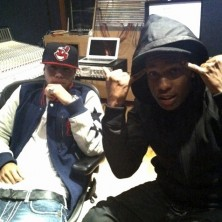 A$AP Rocky in the studio with araabMUZIK