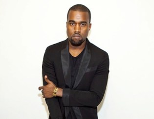 Kanye West performing in 1996