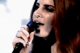 Lana Del Rey - Video Games (Live on Jonathan Ross Show)