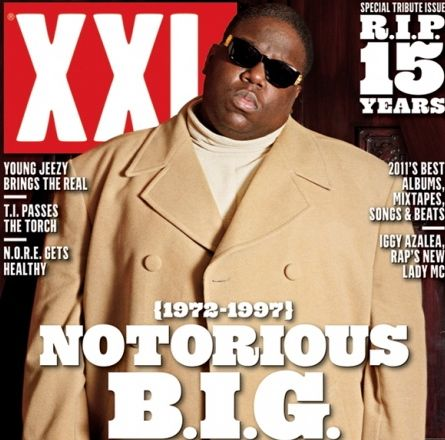 Notorious B.I.G. covers XXL's February/March issue