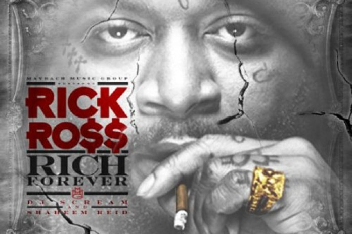 Rick Ross - Rich Forever (Cover and Tracklist)