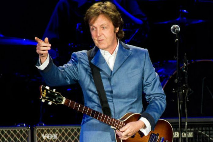 Paul McCartney reveals album title