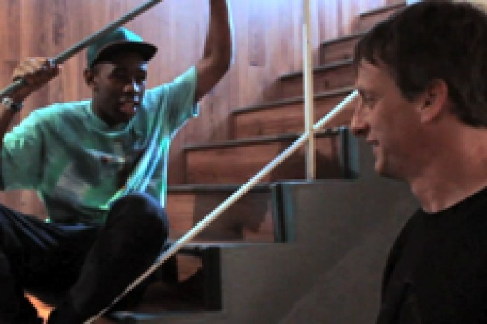 Tony Hawk interviews Tyler, the Creator