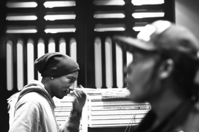 A$AP Rocky & Pharrell hit the studio