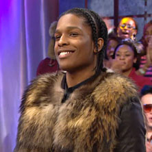 A$AP Rocky visits 106 & Park