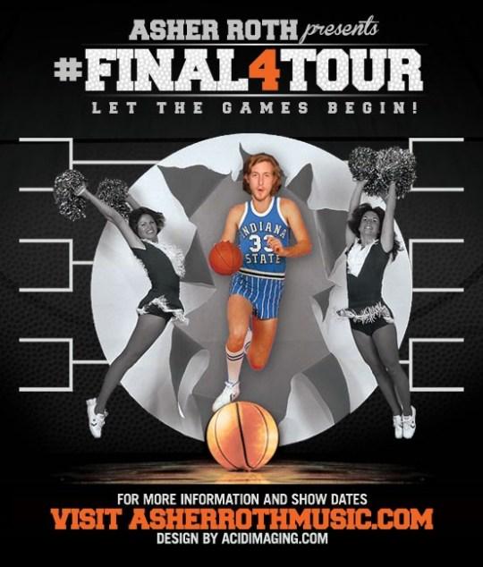 "Asher Roth announces ""Final Four"" Tour"