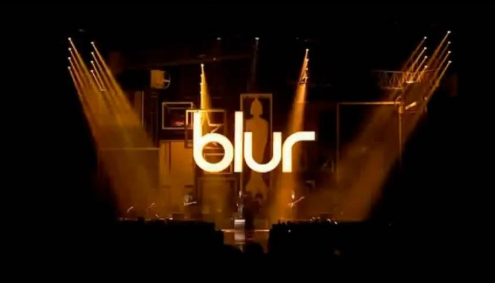 Blur performs at the BRIT Awards