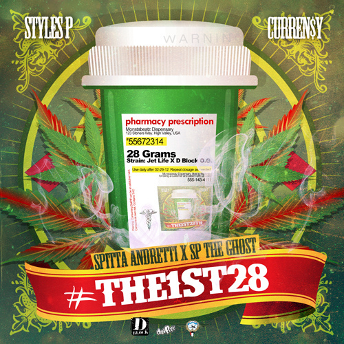Curren$y & Styles P - #The1st28 (EP)