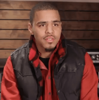 J. Cole at the Grammys