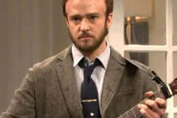 Justin Timberlake - Bon Iver Impersonation on SNL