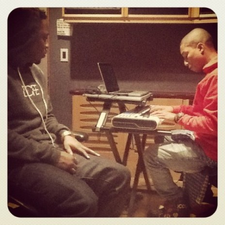 Kendrick Lamar & Pharrell Williams collectively recorded six songs