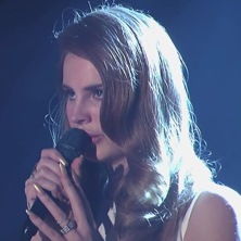 Lana Del Rey - Video Games (Live on Jimmy Kimmel)