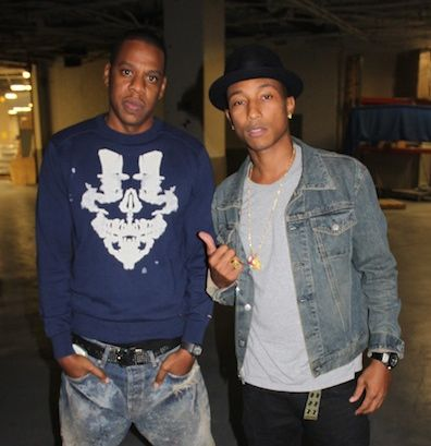 "Pharrell says he and Jay-Z are ""working on something crazy"""