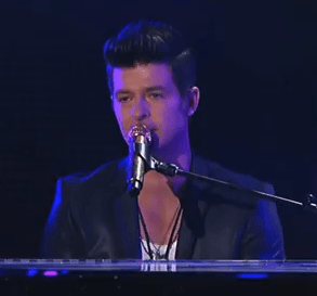 "Robin Thicke performs ""Pretty Lil' Heart"" on 'Jimmy Kimmel Live!'"