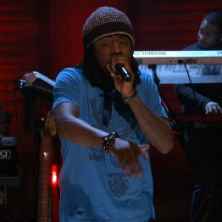 Wale featuring Miguel - Lotus Flower Bomb (Live on Conan)