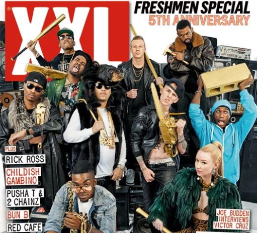 XXL reveals its 2012 Freshman Class