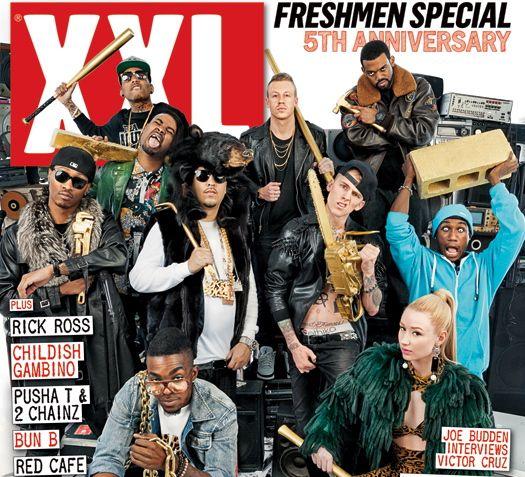 XXL Freshmen 2012 Cyphers Pt. I