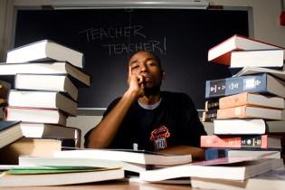 9th Wonder teaching at Duke University