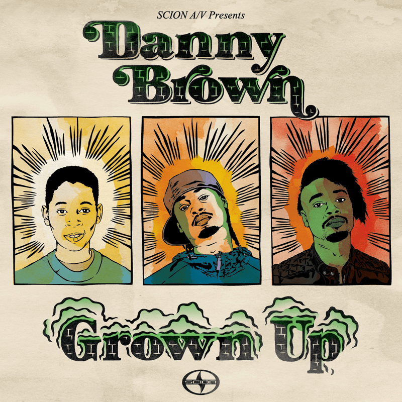 Danny Brown – Grown Up