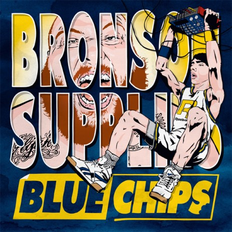Action Bronson & Party Supplies reveal cover art & tracklist for 'Blue Chips'