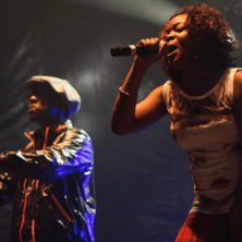 Buraka Som Sistema live at the Gaîté Lyrique in Paris
