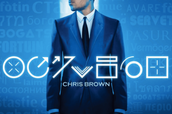 Chris Brown - Fortune (Album Cover)