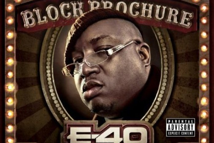 E-40 - Block Brochure: Welcome to the Soil Vol.1, 2 & 3 (Cover Art & Tracklist)