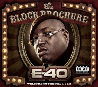 E-40 - Block Brochure: Welcome to the Soil Vol.1, 2 & 3 (Cover Art & Tracklist)