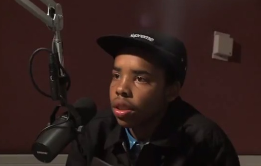 Peter Rosenberg interviews Earl Sweatshirt