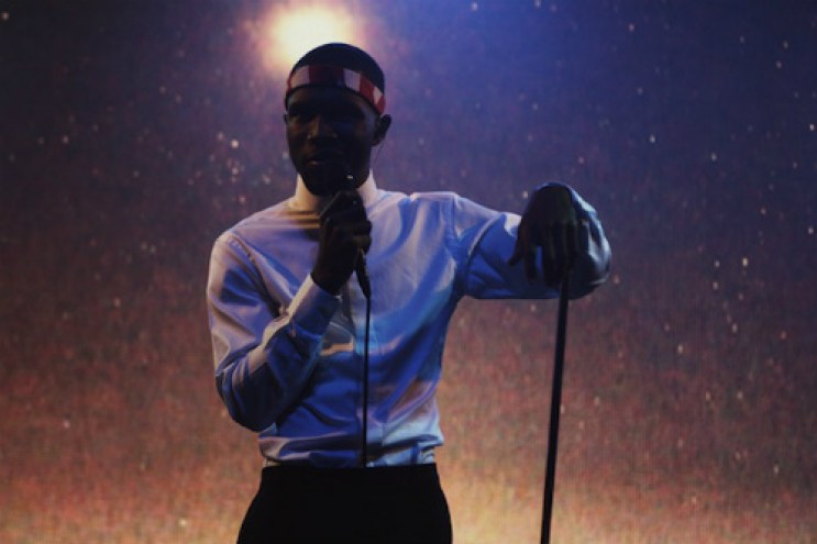 Frank Ocean to open for Coldplay