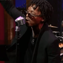 Robert Glasper, Lupe Fiasco & Bilal perform on Letterman