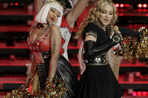 Madonna featuring Nicki Minaj - I Don't Give A