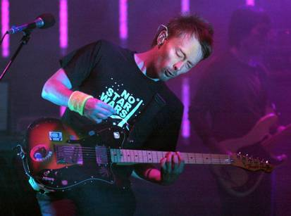 Radiohead debuts new single in Dallas