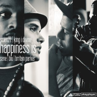 ScienZe featuring Sene, Blu & Britain Parker - Happiness Is