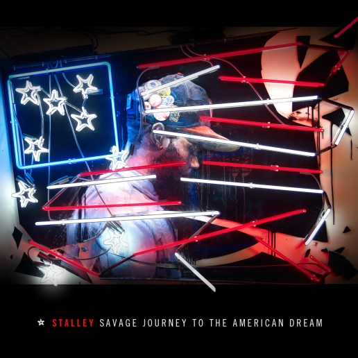 Patrick Martinez x Stalley - Savage Journey To The American Dream (Cover Art)