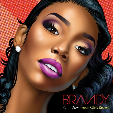 Brandy featuring Chris Brown - Put It Down