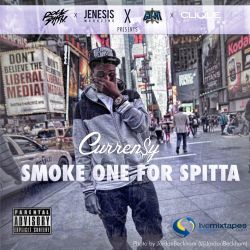 Curren$y - Smoke One For Spitta (Mixtape)